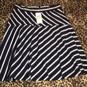 Striped Melissa Paige Skirt